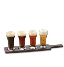 Glassware - Tasting Glass Flight Set - 4 Slots - 6oz