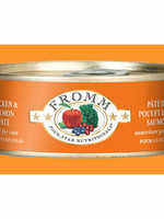 Fromm Family Fromm Cat Can 4 Star GF Chicken & Salmon Pate' 5.5oz