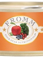 Fromm Family Fromm Cat Can 4 Star GF Chicken/Salmon Pate' 5.5oz 12/case