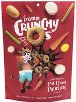 Fromm Family Fromm Dog Treat Crunchy O's Pot Roast Punchers 6oz
