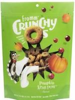 Fromm Family Fromm Dog Treat Crunchy O's Pumpkin Kran Pow 6oz