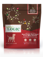 Nature's Logic Nature's Logic Beef Feast Patties Raw Frozen Dog Food - 3.2 oz. mini patty - 3 Pound Bag