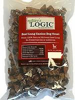 Nature's Logic Nature's Logic Beef Lung Dog Treats 1 Lb
