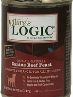 Nature's Logic Nature's Logic Canine Beef Feast Grain-Free Canned Dog Food - 13.2 oz.