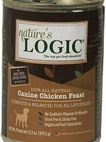 Nature's Logic Nature's Logic Canine Chicken Feast Grain-Free Canned Dog Food - 13.2 oz.