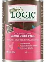 Nature's Logic Nature's Logic Canine Pork Feast Grain-Free Canned Dog Food - 13.2 oz.