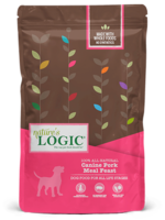 Nature's Logic Nature's Logic Canine Pork Meal Feast Dry Dog Food - 25 Pound Bag