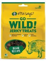 Etta Says Etta Says Dog Treat Jerky Go Wild Boar 5 oz