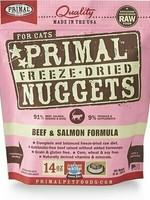 Primal Pet Foods Primal Cat Freeze Dried Beef & Salmon 14oz