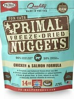Primal Pet Foods Primal Cat Freeze Dried Chicken & Salmon 14oz