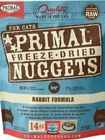 Primal Pet Foods Primal Cat Freeze Dried Rabbit 14oz