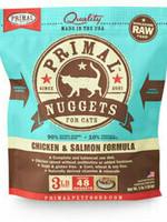 Primal Pet Foods Primal Cat Frozen Nuggets Chicken Salmon 3#