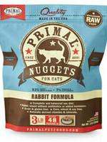 Primal Pet Foods Primal Cat Frozen Nuggets Rabbit 3#
