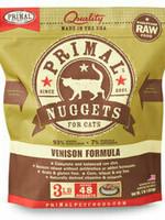 Primal Pet Foods Primal Cat Frozen Nuggets Venison 3#