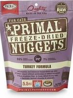 Primal Pet Foods Primal Cat Freeze Dried Turkey 5.5oz