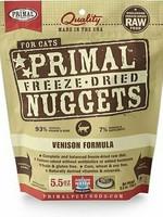 Primal Pet Foods Primal Cat Freeze Dried Venison 5.5oz