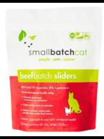 SMALL BATCH FRZN CAT SLIDERS BEEF 3#