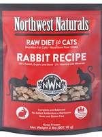 Northwest Naturals NWN Cat Food Frzn Rabbit 2#
