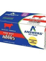 Answers Answers Frzn Dog Detailed Beef Nibbles 2.2# (35-1 oz)
