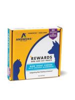 Answers Answers Frzn Treat Raw Goat Milk Cheese/Blueberries 8oz