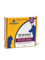 Answers Answers Frzn Treat Raw Goat Milk Cheese/Cranberries 8oz