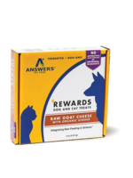 Answers Answers Frzn Treat Raw Goat Milk Cheese/Ginger 8oz