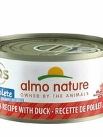 Almo Nature Almo Nature Cat Complete Can Chicken w/Duck 2.47oz