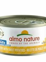 Almo Nature Almo Nature Cat Complete Can Chicken w/Sweet Potato 2.47oz