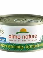Almo Nature Almo Nature Cat Complete Can Chicken w/Turkey 2.47oz