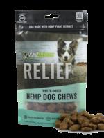 Vital Essentials Vital Essentials Treat Dog Hemp Chew FD Relief 3 oz