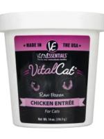 Vital Essentials Vital Essentials Cat Frzn Vital Chicken Tub 14oz