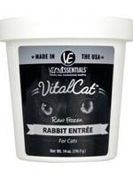 Vital Essentials Vital Essentials Cat Frzn Vital Rabbit Tub 14oz
