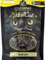 Vital Essentials Vital Essentials Treat Cat FD Duck Liver 0.9oz