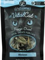 Vital Essentials Vital Essentials Treat Cat FD Minnows 0.5oz