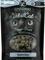 Vital Essentials Vital Essentials Treat Cat FD Rabbit Bites 0.9oz