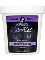 Vital Essentials Vital Essentials Cat Frzn Vital Turkey Tub 14oz
