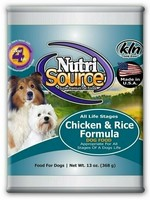 NutriSource (Tuffy) NutriSource Dog Can Chicken & Rice 13 oz 12/Case
