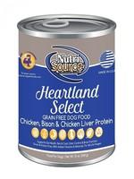 NutriSource (Tuffy) NutriSource Dog Can GF Heartland Select 13oz 12/Case