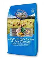 NutriSource (Tuffy) NutriSource Dog Dry GF Chicken/Pea LG Breed 30#