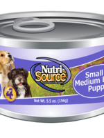 NutriSource (Tuffy) NutriSource Dog Can Chicken & Rice Puppy Sm/Med Breed 5.5 oz