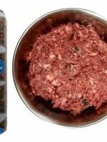 Blue Ridge Beef BRB Dog Frzn Natural Mix, Brown, 2#
