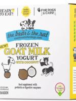 The Bear & The Rat Bear & Rat Frzn Yogurt Goat Milk Coconut 3.5oz 4pk