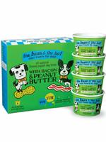 The Bear & The Rat Bear & Rat Frzn Yogurt w/Bacon/Peanut Butter 3.5oz 4pk