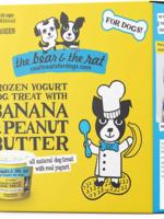 The Bear & The Rat Bear & Rat Frzn Yogurt w/Banana/Peanut Butter 3.5oz 4pk