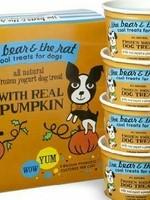 The Bear & The Rat Bear & Rat Frzn Yogurt w/Pumpkin/Cinnamon 3.5oz 4pk