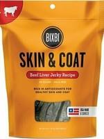 Bixbi Bixbi Dog Treat Jerky Skin & Coat Beef Liver 5oz