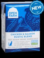 Open Farm Open Farm Cat Wet Rustic Blend GF Chicken & Salmon 5.5 oz