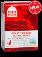 Open Farm Open Farm Cat Wet Rustic Blend GF Beef 5.5 oz 12/Case
