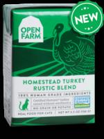 Open Farm Open Farm Cat Wet Rustic Blend GF Turkey 5.5 oz single