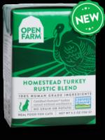 Open Farm Open Farm Cat Wet Rustic Blend GF Turkey 5.5 oz 12/Case